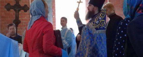 В Усолье состоялся Крестный ход в честь Успения Пресвятой Богородицы
