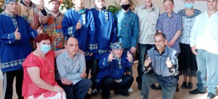 День пожилого человека в Коспашском интернате